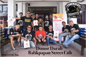 Donor darah Streetcub Balikpapan