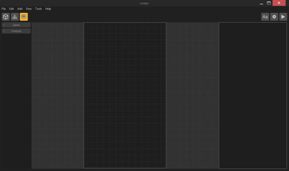 Buildbox menu screen start