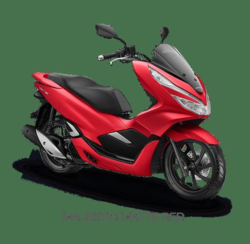 Warna-Honda-PCX-150-2018-Merah-majestic-matte-red